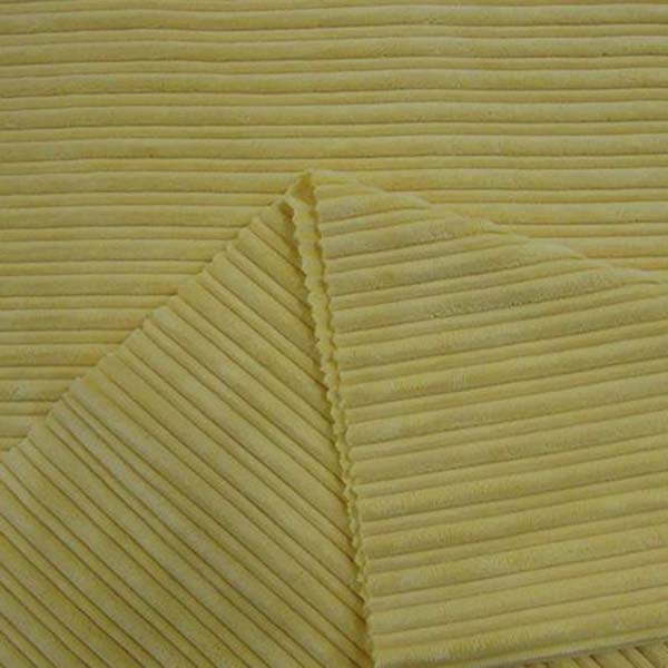 China Spacious Waled Corduroy Fabric For Sale